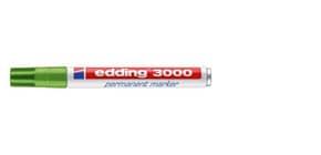 Permanentmarker  hellgrün EDDING 3000-011   M Produktbild