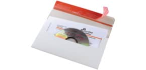 Versandtasche CD weiß COLOMPAC 30000250 123x222mm Produktbild