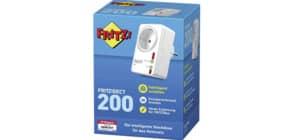 Funk Schalt- und Messsteckdose weiß FRITZ 20002572 Dect 200 Innenbereich Produktbild