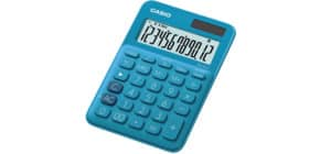Tischrechner 12-stellig blau CASIO MS-20UC-BU Produktbild