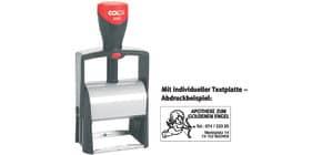 Selbstfärbestempel mit Platte COLOP 2400P individuell Produktbild