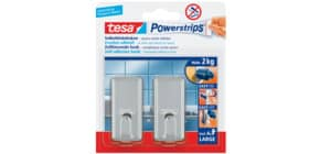 Klebehaken Power Strips chrom TESA 58051 Large Classic Produktbild
