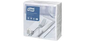 Serviette Zelltuch 100ST 3-lag. weiß TORK 477579 1/8 Falz Produktbild