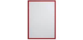 Prospekttasche A4 5 Stück rot FRANKEN ITSA4M/501 magnetisch Produktbild