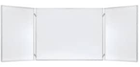 Klapptafel ECO 2 Flügel weiß FRANKEN K100/150 100x150cm Produktbild