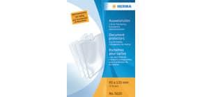 Ausweissteckhülle 95x135mm transparent HERMA 5020 Produktbild