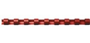 Spiralbinderücken 100ST rot Q-CONNECT 5345604   8mm Produktbild