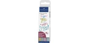 Tuschestift-Etui 4ST Metallic Produktbild