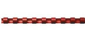 Spiralbinderücken 100ST rot Q-CONNECT 5346004   10mm Produktbild