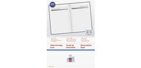 Buchkalender A4 Reservierung schwarz RIDO 702740390 Produktbild