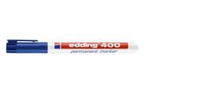 Permanentmarker 400 1mm blau EDDING 400-003 Rundspitze nachfüllbar Produktbild