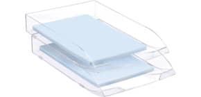 Briefkorb A4 glasklar CEP 147/2 1014720111 Produktbild