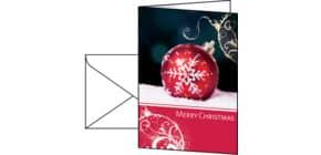 Weihnachts Design Karte Felicity SIGEL DS013 A6(A5), 10+10 Stück Produktbild