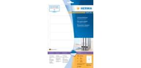 SuperPrint-Etikett 192x38 weiß HERMA 8620  10Bl  70St Produktbild