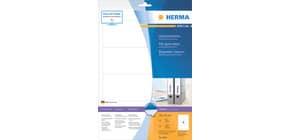 SuperPrint-Etikett 192x61 weiß HERMA 8621  10Bl  40St Produktbild