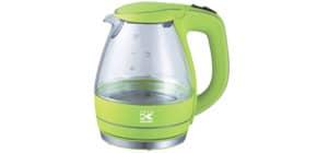 Wasserkocher Glas 1,5 l grün KALORIK JK 1022 AG Applegreen Produktbild