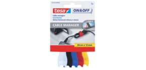 Klettband Velcro Kabelbinder TESA 55236-00000-01 small 5 Stück Produktbild