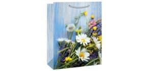 Geschenktragtasche Wiesenblumen Produktbild
