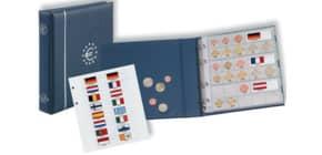 Münzringalbum Euro NUMIS blau Produktbild