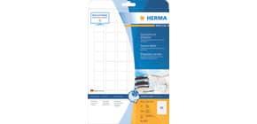 Inkjetetiketten 25,4x25,4 weiß HERMA 8831 InkPrint Produktbild