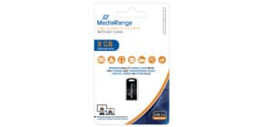 USB Stick mini 8GB MEDIA RANGE MR920 2.0 Produktbild