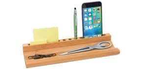 Organizer m.Smartphone-Halter WEDO 611807 Bambus Produktbild