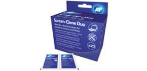 Reinigungtücher nass/trocken AF SCR020 PG=20 Sets Produktbild