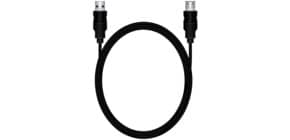 Verlängerunskabel A/A 1,8m schwarz MEDIARANGE MRCS154 USB2.0 480Mbit/s Produktbild