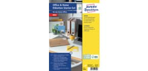 Universaletiketten Office&Home sortiert AVERY ZWECKFOM 49300 Produktbild
