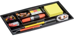 Schubladen Einsatz schwarz CEP 1014940161 7 Fächer Produktbild