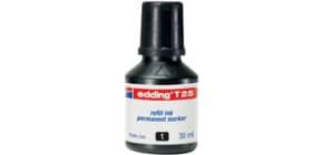 Nachfülltusche 30ml schwarz EDDING T25-001 Produktbild