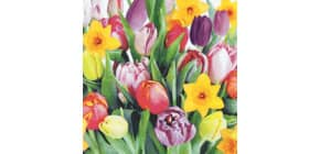 Motivserviette Frühjahr Produktbild