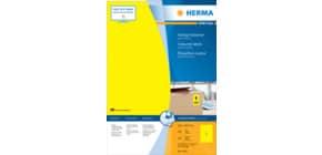 Universaletiketten 210x297 gelb HERMA 4401 100 Blatt Produktbild