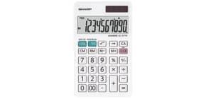 Tischrechner 10-stellig weiß SHARP SH-EL377W Produktbild