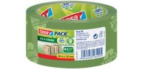 Verpackungsband 50mm 66m grün TESA 58156 bedruckt Eco&Stron Produktbild