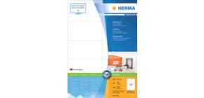 Universaletiketten 105x57mm weiß perman HERMA 4425 SuperPrint 1000 Stück Produktbild