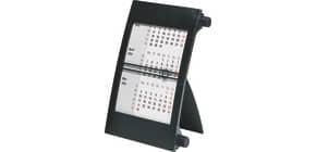 Tischkalender 3 Monat 2J schwarz 11x18,3 RIDO 703800090 Drehknopfen Produktbild