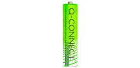 Batterie Akku AAA/HR03 2ST grün Q-CONNECT KF15164 1000mAh Produktbild