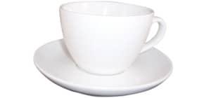Kaffeetasse Cappuccino weiß 433-213 0,3L 6 Stück Produktbild