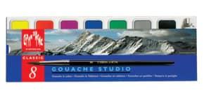 Farbkasten Studio 7 Farben + Deckweiß Produktbild