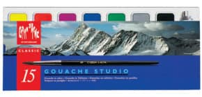 Farbkasten Studio 14 Farben + Deckweiß Produktbild
