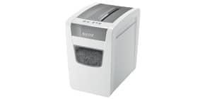 Aktenvernichter IQ P4 grau/weiß LEITZ 8001-00-00 Slim Home Office Produktbild
