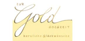 Goldhochzeitskarte 72-1118   Bild Produktbild