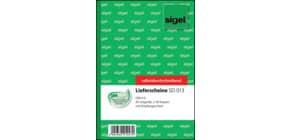 Lieferscheinbuch A6/2x40BL SIGEL SD013 Produktbild