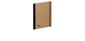 Notizbuch A4 Pur kariert natur PAGNA 26087-11 Produktbild