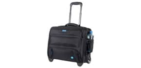 Business Trolley Laptop RPET schwarz LIGHTPAK 46215 Produktbild