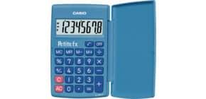 Taschenrechner 8-stellig blau CASIO LC-401LV-BU 75x10,7x120mm BxHxT Produktbild