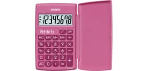 Taschenrechner 8-stellig pink CASIO LC-401LV-PK 75x10,7x120 mm BxHxT Produktbild