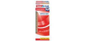 Klebefilm 12RL 12mm 33m transparent TESA 57402-00002-00 Office Box Produktbild