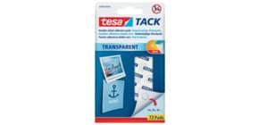 Klebestrips Tack 72ST transparent TESA 59408-00000-01 Produktbild